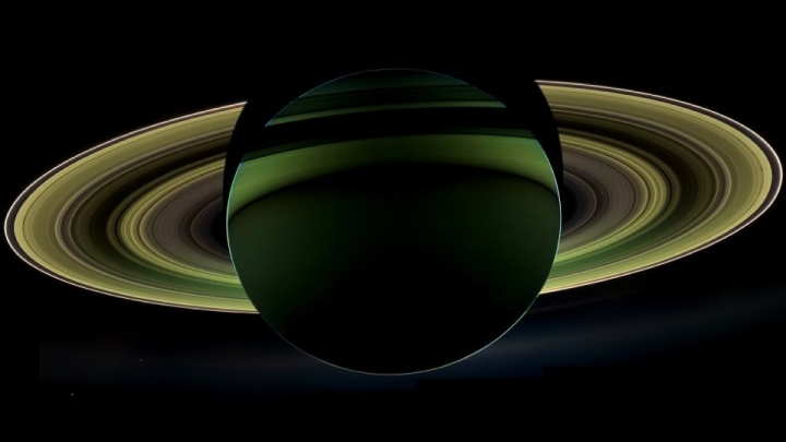 This rare view of Saturn is among the most awe-inspiring images of the planet weve ever seen